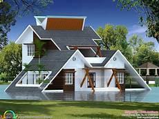 Creative House Design creative home architectural design kerala home design