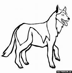 husky kleurplaat malvorlagen hunde mandala zum drucken