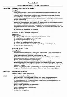 resume objective building maintenance building maintenance worker resume