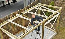 Geräteschuppen Pultdach Selber Bauen - gerateschuppen selber bauen