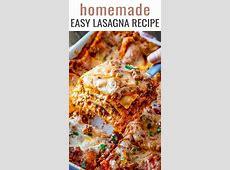 easiest no boil lasagna_image