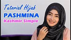 Tutorial Pashmina Kashmir Simple
