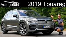 All New Volkswagen Touareg Iii R Line Review 2019 Vw