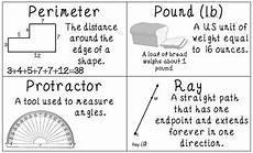 measurement and data worksheets 4th grade 1414 common 4th grade measurement data vocabulary posters flash cards