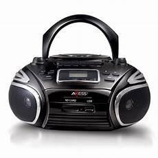 cassette mp3 player pb2705 bk portable am fm radio cd mp3 player usb sd