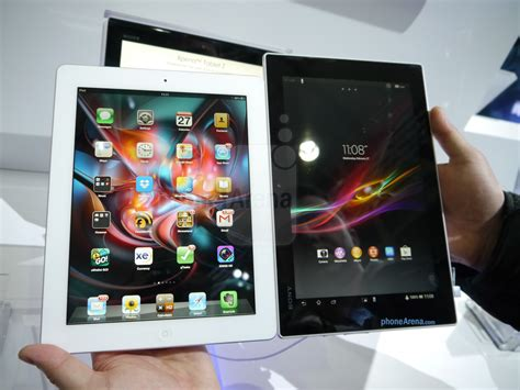 Ipad Air Vs Android Tablet