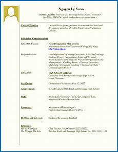 12 13 cv sles for students with no experience