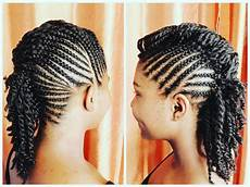 Mohawk Hairstyles Braids
