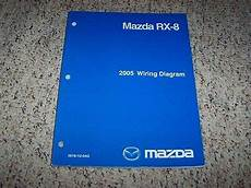 electric and cars manual 2005 mazda rx 8 auto manual 2005 mazda rx 8 rx8 factory original electrical wiring diagram manual book ebay