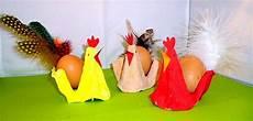 Lieder Basteln Hahn Und Hennen Aus Eierkartons Osternest