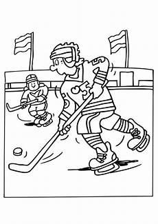 Gratis Malvorlagen Eishockey Eishockey Ausmalbilder