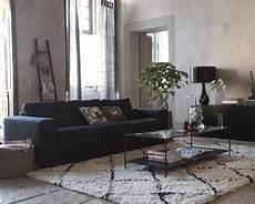 Deco Salon Canape Noir