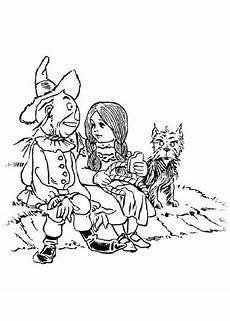 ausmalbilder f 252 r kinder der zauberer oz 9
