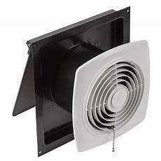 Kitchen Utility Fan broan chain operated ventilation fan plastic white square