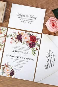 Etsy Deco Wedding Invitations