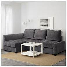 Friheten Corner Sofa Bed With Storage Grey Ikea