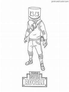 Malvorlagen Fortnite X Fortnite Battle Royale Coloring Pages Malvorlagen