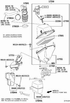 2006 toyota rav 4 engine diagram toyota rav4 air filter housing air cleaner engine cnd 177010v120 marietta toyota