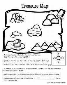 directions worksheets grade 5 11556 freebie cardinal direction practice and beginning map skills are just part of this mini