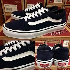 Jual Sepatu Vans Oldskool jual sale sepatu vans oldskool dress blue white original