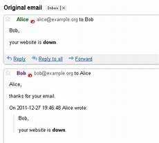 reply to an email blog limilabs