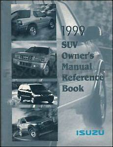 service and repair manuals 1999 isuzu hombre space engine control 1999 isuzu owners manual vehicross oasis hombre rodeo owner reference guide book ebay