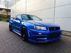 nissan skyline gtr r34 used nissan skyline r34 2 6 gtr for sale in herts