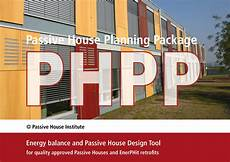 passive house planning package passivhaus institut