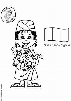 Malvorlagen Naija Malvorlage Abebi Aus Nigeria Kostenlose Ausmalbilder Zum