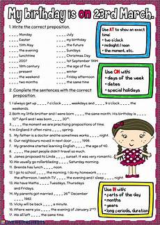 my birthday worksheets 20260 my birthday is on 23rd march interactive worksheet