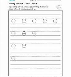 lowercase letter e worksheets 24621 printing practice lower letters handwriting practice