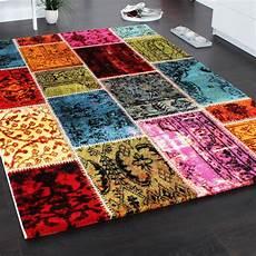 teppich modern designer teppich patchwork vintage