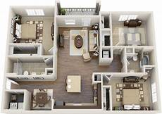 exclusive 3 bed house plan with split bedroom luxury apartment floor plans apartment layout luxury