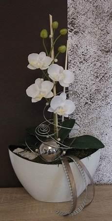 orchideen deko ideen orchideengesteck gesteck in wei 223 in m 246 bel wohnen dekoration sonstige ebay dekoration