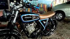 Suzuki Thunder 125 Modif Japstyle by Modifikasi Motor Japstyle Thunder 125