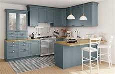 meuble cuisine bleu cuisine camelia but bleu bois inspiration