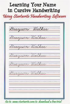 custom handwriting worksheets hand writing