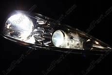 pack headlights xenon effect bulbs for peugeot 207