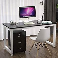 home office computer furniture ktaxon wood computer desk pc laptop table workstation
