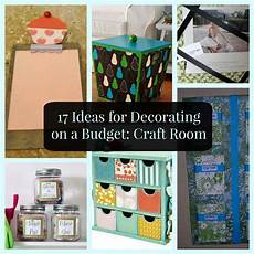 17 ideas for decorating a budget craft room