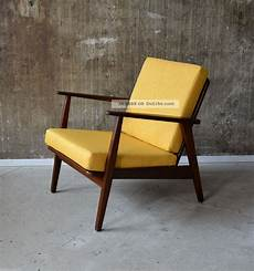 sessel 60er design 60er teak sessel design 60s easy chair vintage