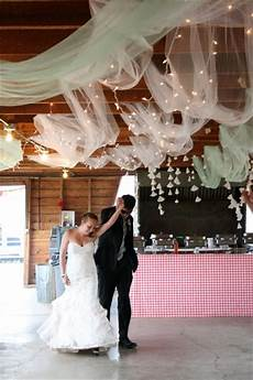 tulle string lights ceiling weddingbee photo gallery