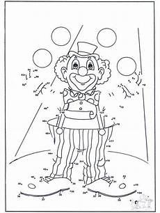 ausmalbilder fasching grundschule malen nach zahlen 54 mehr malen nach zahlen clown
