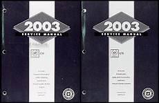 free car repair manuals 2003 cadillac cts auto manual 2003 cadillac cts repair shop manual 2 original volume set