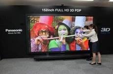 le plus grand ecran tv du monde 500 000 dollars pour le plus grand 233 cran plasma du monde