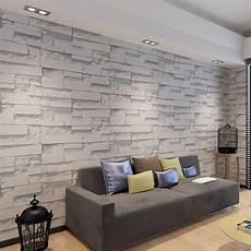 Waterproof Brick Wallpaper For Walls 3d Living Room Pvc 3d