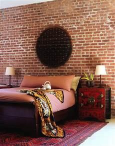 Backstein Tapete Schlafzimmer - brick wallpaper