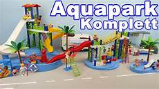 Playmobil Ausmalbilder Schwimmbad Playmobil Aquapark Komplett Seratus1 Rutsche Raftingbahn