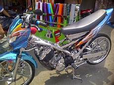 Modifikasi Motor Satria F by Foto Modifikasi Motor Suzuki Satria F Chrome