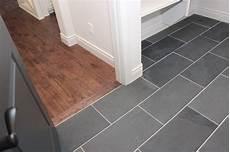 Kitchen Floor Tile Or Hardwood by Tile For Entryway Powder Room Maybe A Darker Hardwood